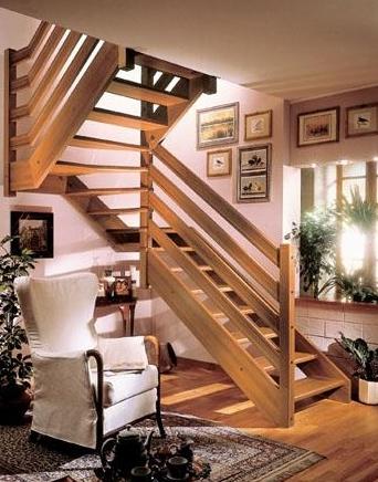 Выбор материала для лестниц